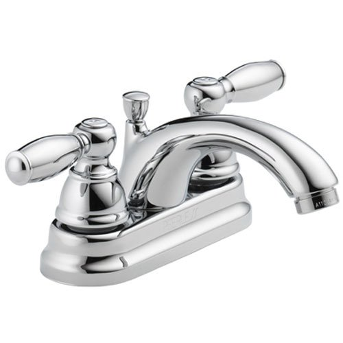 P299675LF 1.20 GPM Two Handle 3-Hole Lavatory Faucet With Pop-Up, Chrome