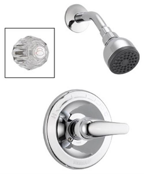 2.00 GPM Single Handle Shower Faucet, Chrome