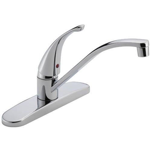 1.8 GPM Single Handle Kitchen Faucet, Chrome