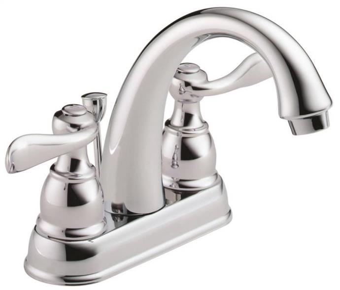 Lavatory Faucet 2-Handle Chrome