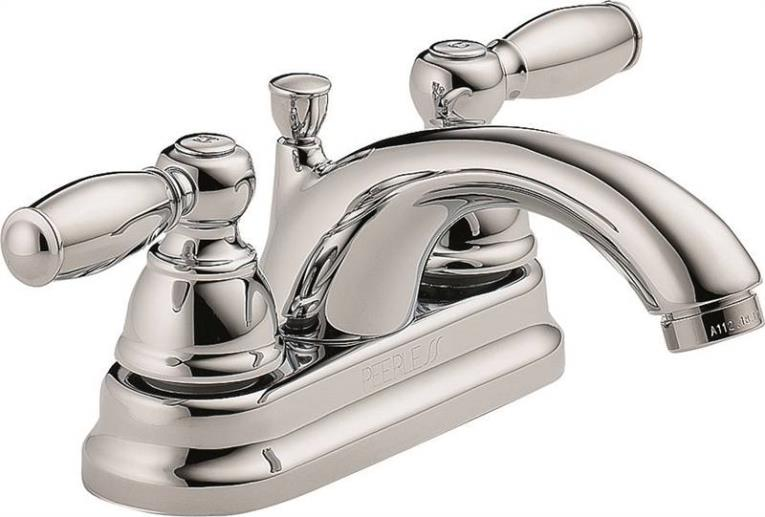 Lav Faucet 2-Handle Chrome
