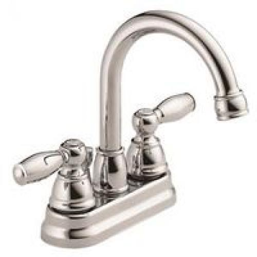 FAUCET LAV 2HANDLE CNTR CHROME