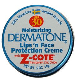 Dermatone with Zinc SPF 30 Mini Tin, 0.5oz