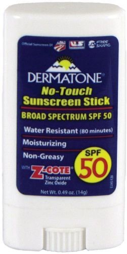 Dermatone SPF 50 No-Touch Sunscreen Stick, 0