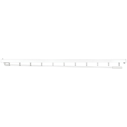 "35"" Vertical Blind Headrail Only, White"