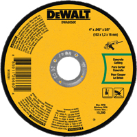 4X.045X5/8 MASONRY CUT-OFF WHEEL