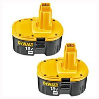 Dewalt XRP DC9096-2 Rechargeable Combination Cordless Battery Pack, 18 V, NiCd
