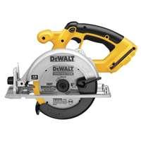 Dewalt DC390B Cordless Circular Saw, 18 V, 6-1/2 in Blade, 5/8 in Shank