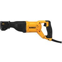 DeWalt DWE305 Heavy Duty Reciprocating Saw, 120 V, 12 A, 1-1/8 in Stroke, 0 - 2900 spm
