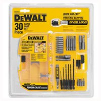 Dewalt DW2518 Rapid Load Drill Bit Set, 30 Pieces