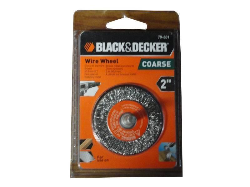 DeWalt 70-601 Crimped Wire Wheel Brush, 2 in Wire, Coarse