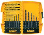 BIT DRILL SET BLK 13PC