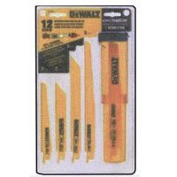 Dewalt DW4892 Bi-Metal Reciprocating Saw Blade Set, 12 Pieces