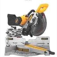 Dewalt DW717 Double Bevel Sliding Compound Corded Miter Saw, 120 V, 15 A, 10 in Dia