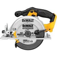 Dewalt DCS391B Tool Only Cordless Circular Saw, 20 V Max, Li-Ion, 6-1/2 in Blade, 5/8 in Shank