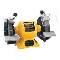 Dewalt DW756 Heavy Duty Bench Grinder, 5/8 hp, 4 A, 3450 rpm, 6 in Wheel