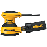 Dewalt D26450 Random Orbit Corded Sander with 8-Hole Pressure Sensitive Adhesive, 120 V, 3 A