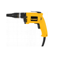 Dewalt DW255 Corded Screwdriver, 120 V, 6 A, 0 - 5300 rpm