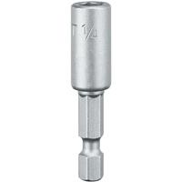 Dewalt DW2218 Magnetic Nutdriver, 1/4 in, 1/4 in Hexagonal Socket Shank, Steel