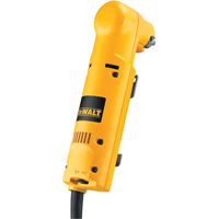Dewalt DW160V Heavy Duty Right Angle Corded Drill, 120 V, 4 A, 200 W, 3/8 in Keyed Chuck