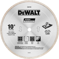 CUTOFF WHEEL 10IN TILE BLADE