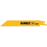 Dewalt DW4839B Straight Reciprocating Saw Blade, 12 in L x 0.063 in T, 10/14 TPI