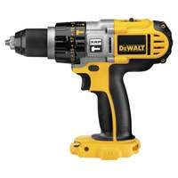 Dewalt DCD950B Cordless Hammer Drill/Driver Kit, 18 V, Ni-Cd, 1/2 in Self Tightening Chuck