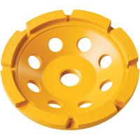 DeWalt 4 In. Single Row Diamond Cup Grinding Wheel