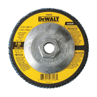 DeWalt DW8358 Coated High Performance Type 27 Flap Disc, 4-1/2 in, 80 Grit, 5/8-11 Arbor