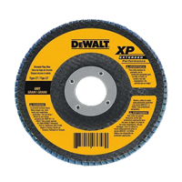 DeWalt DW8359 Coated High Performance Type 27 Flap Disc, 4-1/2 in, 120 Grit, 5/8-11 Arbor