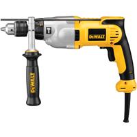 Dewalt DWD520K Corded Hammer Drill Kit, 120 V, 10 A, 980 W, 1/2 in Keyed Chuck