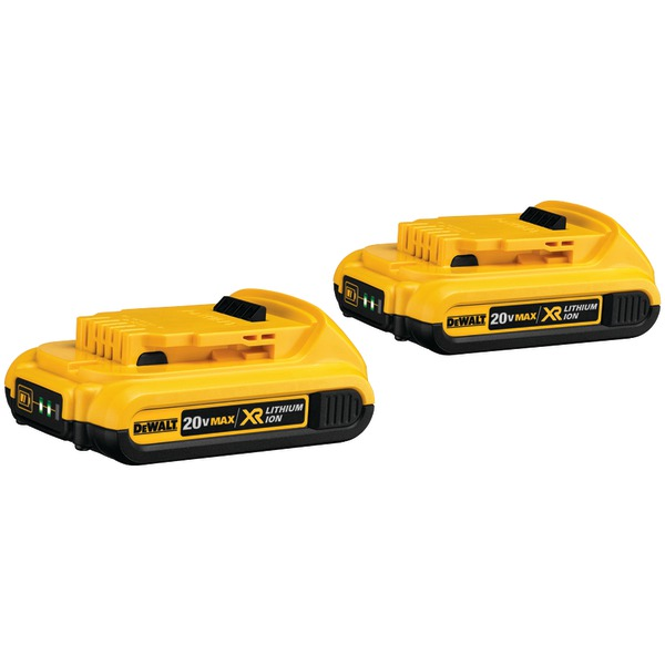 Dcb203-2 20-Volt 2.0 Ah LI-ION Battery (2  Pack)