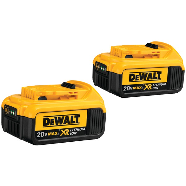 Dcb204-2 20-Volt 4.0Ah LI-ION Battery (2  Pack)