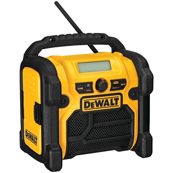 DCR018 12-Volt/18-Volt/20-Volt MAX Compact Worksite Radio