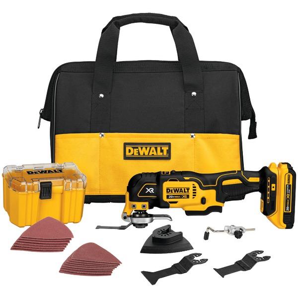 DEWALT DCS355D1 20-Volt MAX XR Li-Ion Oscillating Multi-Tool Kit