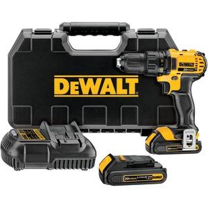 DCD780C2 20-Volt Li-Ion Compact Drill/Driver Kit