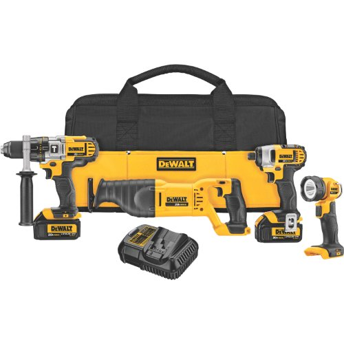 20 VOLT MAX LITHIUM ION 4-TOOL COMBO KIT 3.0 AH