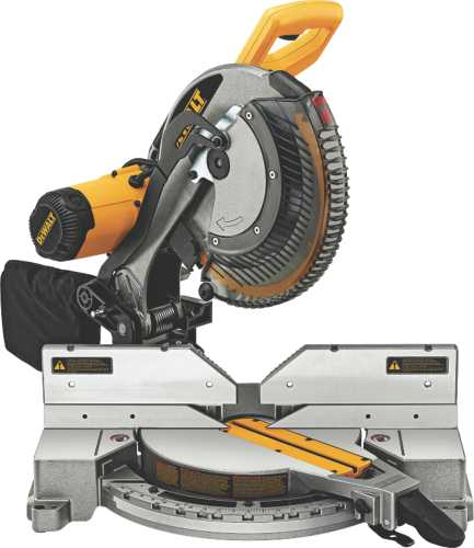 """12"""" Double-Bevel Compound Miter Saw"""