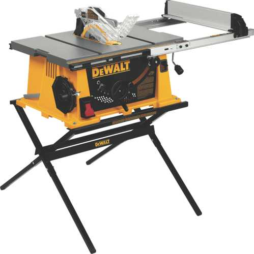 "10"" Job Site Table Saw With Site-Pro Modular Guarding System"