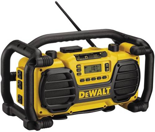 WORKSITE RADIO AND BATTERY CHARGER