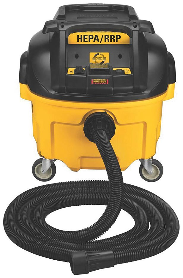 DeWalt 8 Gal Dust Extractor with Automatic Filter Cleaning