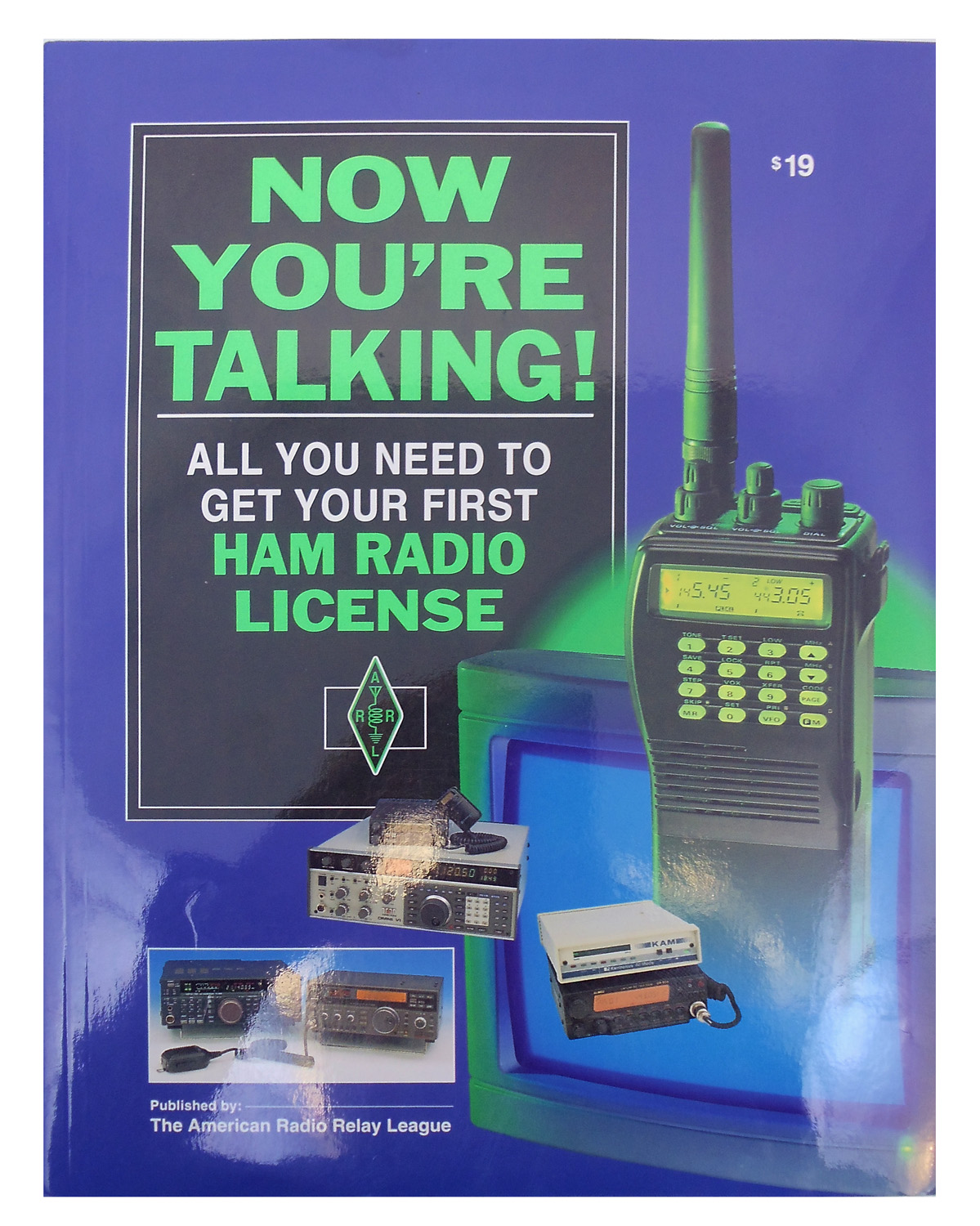 391 PAGE MANUAL TO GET FIRST HAM RADIO LICENSE