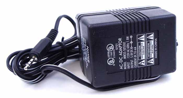 120V AC WALL CHARGER 60 HZ 7.8W IN - OUTPUT 5.8VDC