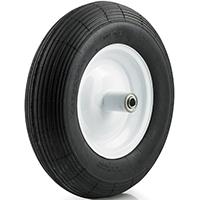 DH Casters W-PN Light/Medium Duty Pneumatic Wheel, 16 in Dia, 250 lb