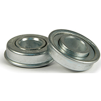 DH Casters W-WB Ball Bearing, 5/8 in ID X 1-3/8 in OD