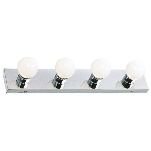 The Village 4-Light Vanity, Polished Chrome