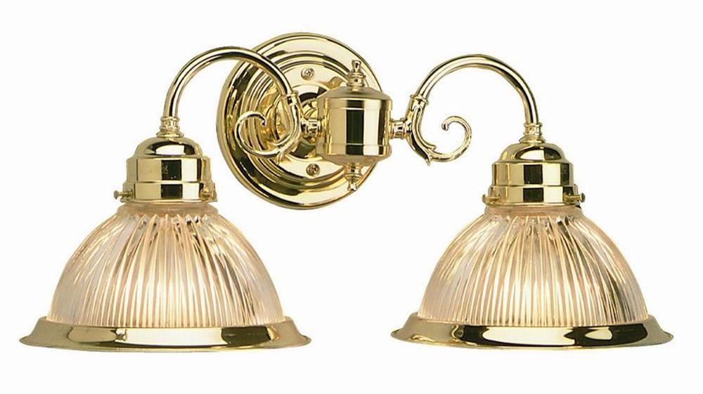 Millbridge 2-Light Wall Sconce, Polished Brass
