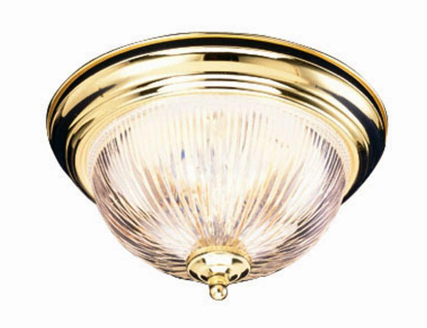Millbridge 2-Light Ceiling Mount, Polished Brass