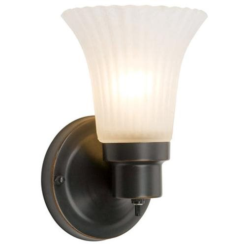 The Village 1-Light Wall Sconce, Oil Rubbed Bronze