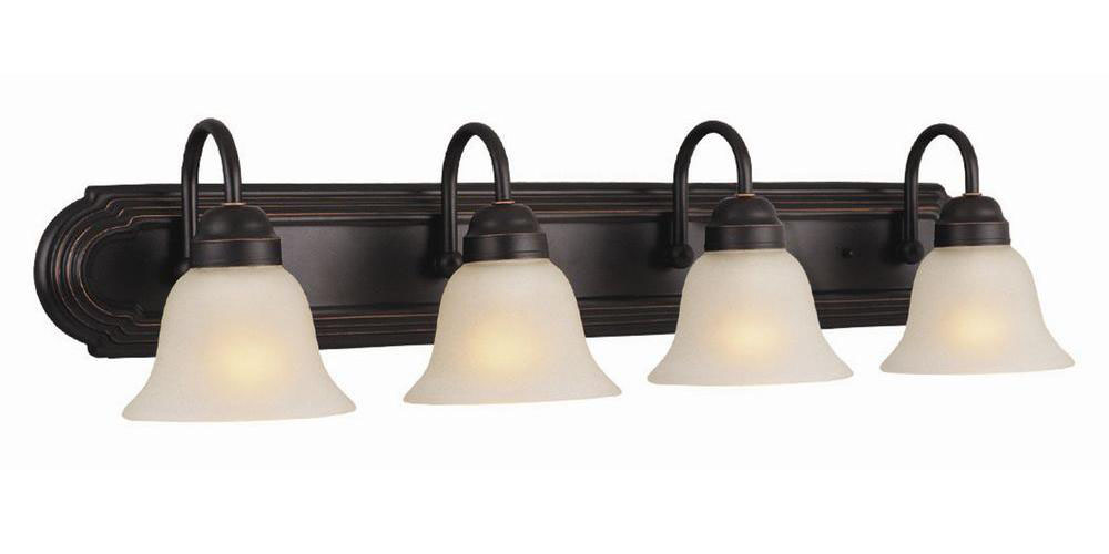 Allante 4-Light Vanity, Oil Rubbed Bronze